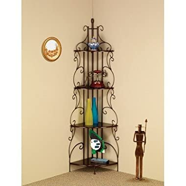 Four Tier Metal Etagere Shelf