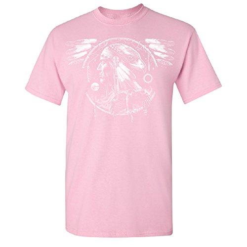 War Eagle Dakota Leader Men's T-shirt Brand New Tee Pink XX-Large (Leader New T-shirt)