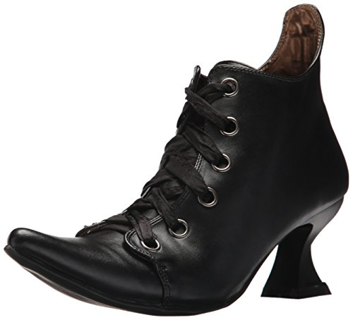 Witch Costume Shoes (Ellie Shoes Women's 301-abigail Ankle Bootie, Black, 8 US/8 M)