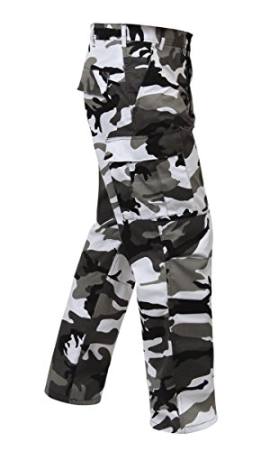 Rothco Longs BDU Pants, City Camo, Medium