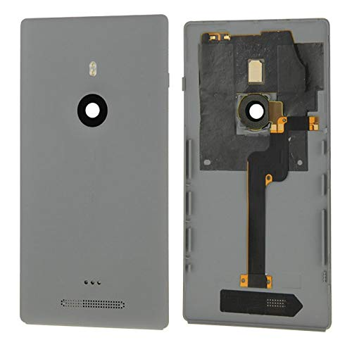 Replacement YHM Housing Battery Back Cover with Flex Cable for Nokia Lumia 925(Black) (Color : Grey) (Lumia 925 Best Price)