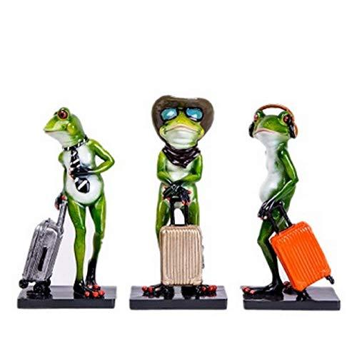 Frog Gentleman Nordic Decor Hotel Window Display Room Model Set of (Gentleman Frog)