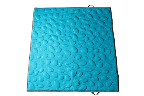 Nook Sleep Systems 100% Organic, Soft LilyPad2 Playmat for the Whole Family, Peacock ()