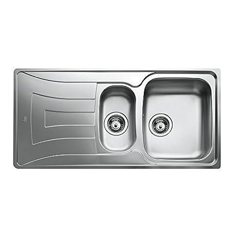 Teka Kitchen Sink Amazon teka 10120036 1 12c 1e cn mat universo stainless steel teka 10120036 1 12c 1e cn mat universo stainless steel single and half bowl workwithnaturefo