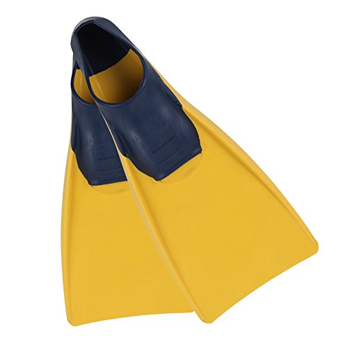 - U.S. Divers Sea Lion Fin (Yellow/Blue, Medium Large 8-10)