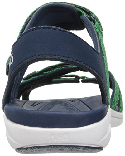 Green Sandal Savannah Ryka Women's Navy qXAwqI6