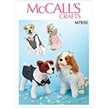 McCall's M7850 Undefined Pet Pattern OSZ (One Size)