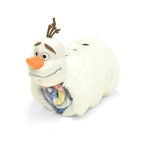 Disney Frozen Figural Pillow and Slumber by Disney