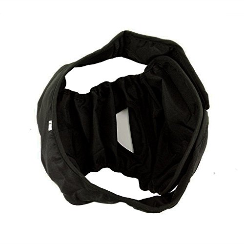 IBLUELOVER Comfortable Black Dog Diapers, Durable Dog Wraps Shorts Female, Pets Washable Cover up Panties, Doggie Diapers, Fashion Puppies Nappies, Sanitary Panty (Size S-2XL by IBLUELOVER (Image #2)