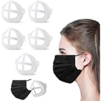 3D Breathing Relief Face Mask Support Reusable Frame Silicone 5PCS For Adults For Kids Reusable Makeup Protector…