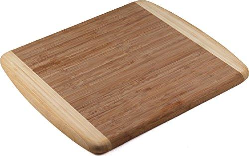 (Tru Bamboo Two Tone Bamboo Cutting Board)