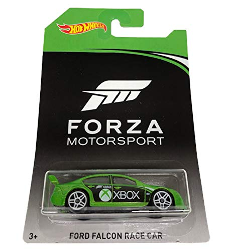 HOT WHEELS FORZA MOTORSPORT XBOX GREEN FORD FALCON RACE CAR