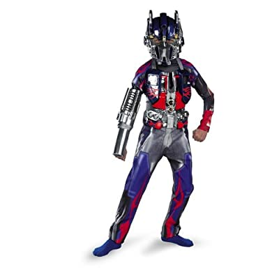 Optimus Prime Movie Deluxe Costume - Small 4-6 by Disguise