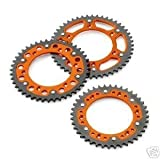 NEW KTM ORANGE STEALTH REAR SPROCKET 50T TOOTH 2000-2012 125-530 5841005105004