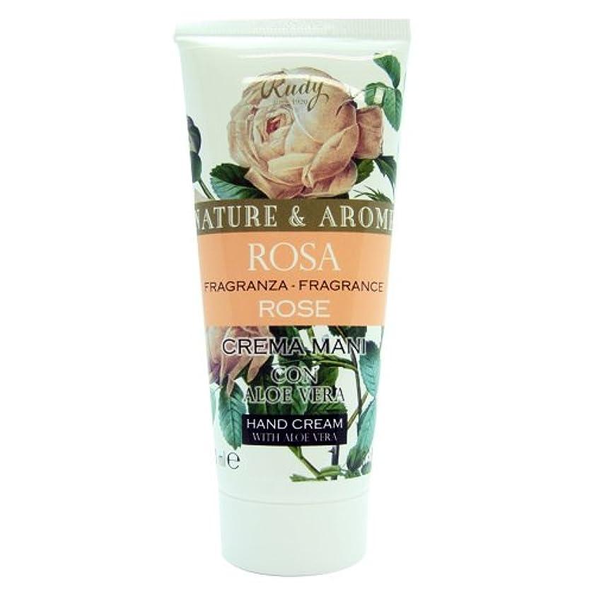 創始者広まった養うRUDY Nature&Arome SERIES ルディ ナチュール&アロマ Hand Cream ハンドクリーム Rose ローズ