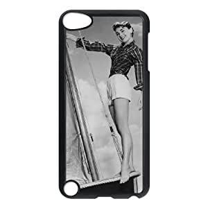 iPod Touch 5 Case Black Audrey Hepburn Cell Phone Case Cover Y7U6IV