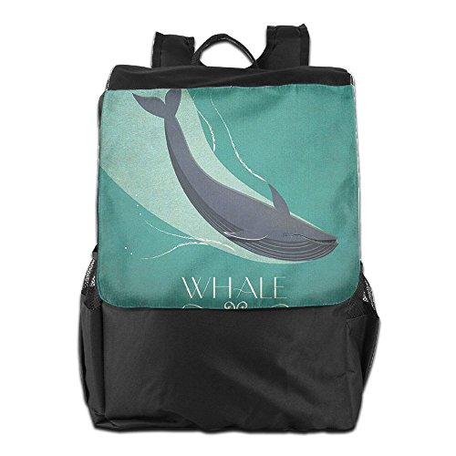 Personalized School For Women And Outdoors Dayback whale posters alphabet Camping 72052b54effc5385b61c868f7adaed48 Backpack Strap Men Storage HSVCUY Shoulder print Travel Adjustable qFXgqd