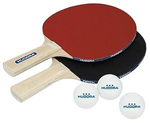 HUDORA Tischtennisset Match 2.0, Mehrfarbig, 40 mm, 76299