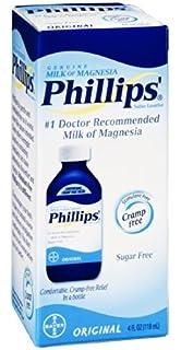 Philips Milk of Magnesia Saline Laxative Original Sugar Free, ...