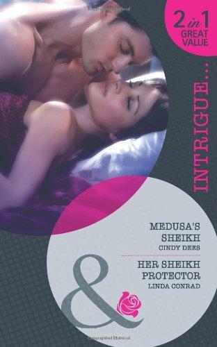 book cover of Medusa\'s Sheikh / Her Sheikh Protector