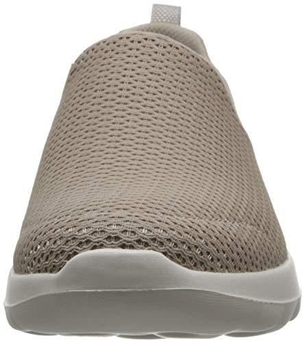 Metedera 15600 Mujeres Skechers Joy Topo Para Zapatos amp; Go Walk Bajos Talla Caminar Medios Marrón q4xx8w1