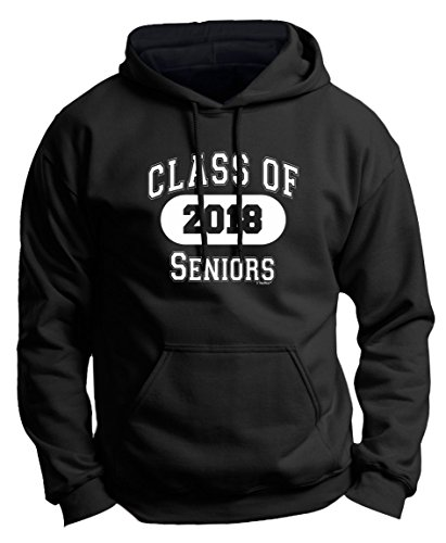 Class Hoodie (Graduation Shirt 2018 Graduation Gifts for Seniors Class of 2018 Premium Hoodie Sweatshirt Medium Black)