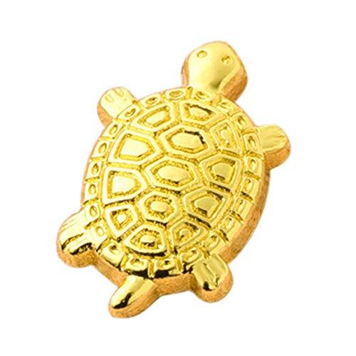 (Zigtee Japanese Money Turtle Asakusa Temple Small Golden Tortoise Guarding Praying for Fortune Home Furnishing)