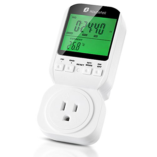 Houzetek Programmable Plug In Thermostats