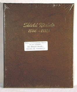 Dansco Shield Nickels 1866-1883 Album