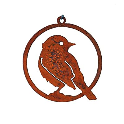 Elegant Garden Design Yellow Warbler 3-inch Ornament : Yard Art : Garden & Outdoor