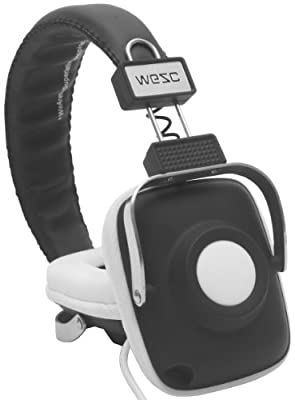 WeSC Maraca On Ear Headphones (Black)