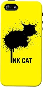 DailyObjects Rorschach Cat Case For iPhone 5/5S