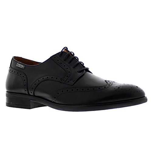 Pikolinos Mens Bristol M7J-4186 Leather Shoes Black