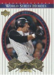 World Series Upper Deck (2002 Upper Deck World Series Heroes Baseball Card #27 World Series Mint)