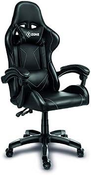 Cadeira Gamer XZONE, Premium, Preto/Branco, Ajuste de 0 a 13° - CGR-01-BW