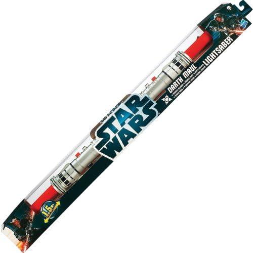 Hasbro 36869186 - Star Wars Darth Maul Doppelklingen Lichtschwert