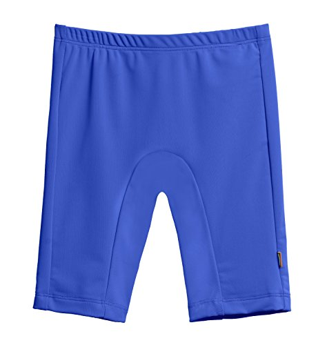City Threads Big Boys' and Girls' SPF50+ Swim Jammer Swimming Shorts Swim Bottoms Briefs With Sun Protection SPF For Beach Pool or Play, Royal, 7