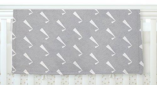KESS InHouse KESS Original Check You Out Gray White Fleece Baby Blanket 40 x 30 [並行輸入品]   B077ZSBJBS