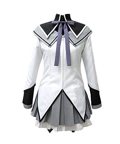 (Wish Costume Shop Puella Magi Madoka Magica Homura Akemi Cosplay Costume (XL,)
