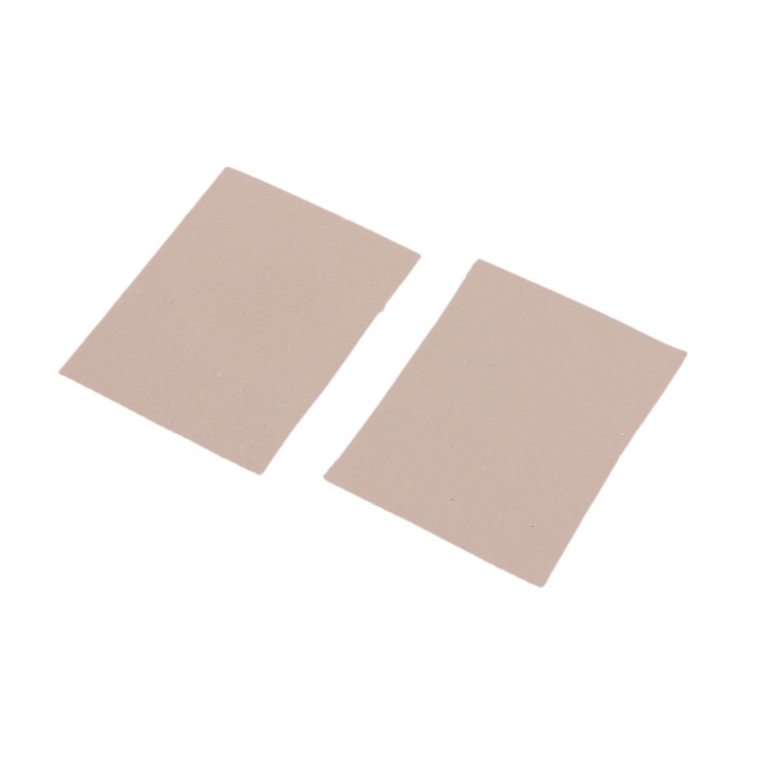 DealMux 1000 Pcs Silicone Thermal Heatsink Insulator Pads 0.3 X 20 x 25mm Gray by DealMux