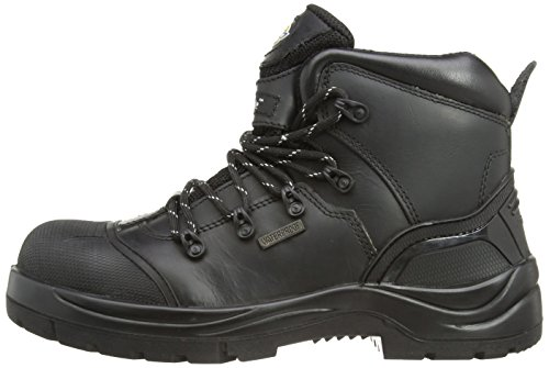 Dickies Talpa - zapatos de seguridad para hombre, color black, talla 5.5 UK / 39 EU negro