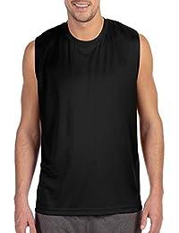 Men's Sleeveless Performance Muscle Shooter Workout Tee