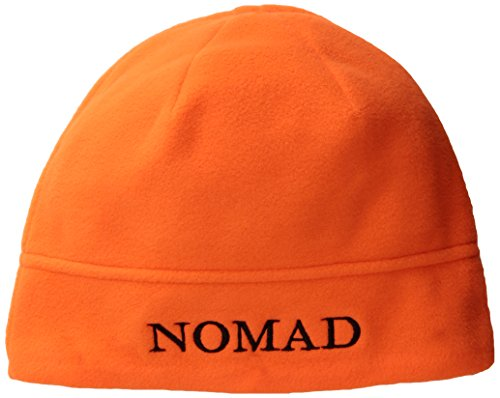 Nomad Youth Beanie, Blaze Orange, One Size - Blaze Orange Polar Fleece