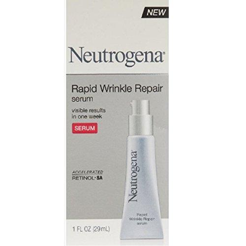 Neutrogena Rapid Wrinkle Repair Serum 1 oz ( Pack of 3)