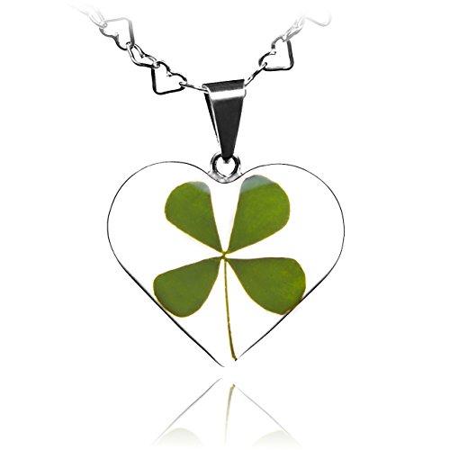 pressed leaf necklace - 5