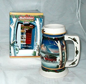 Budweiser 2000 Holiday in The Mountains Stein ()