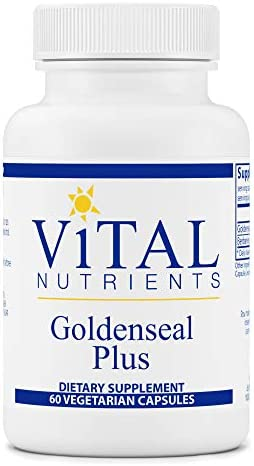 Vital Nutrients - Goldenseal Plus - Supports Healthy Immune Gastrointestinal Function - 60 Capsules per Bottle