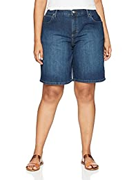 Women's Plus Size Relaxed-fit Bermuda Short