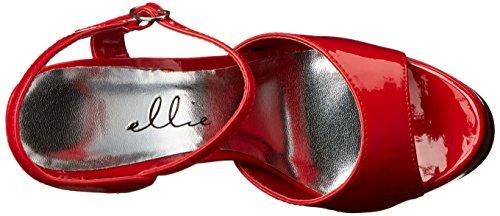 Dress Red Shoes Sandal Womens Ellie Ellie 652 JULIET Shoes q7RYxw