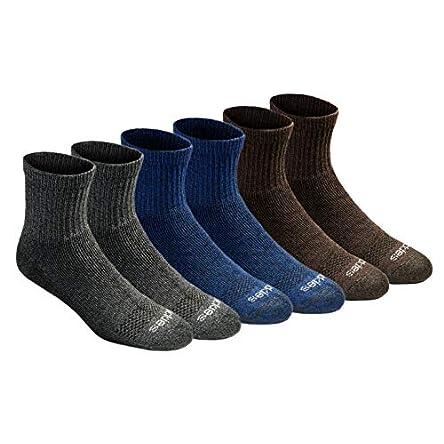 Dickies mens Dri-tech Moisture Control Quarter Socks...